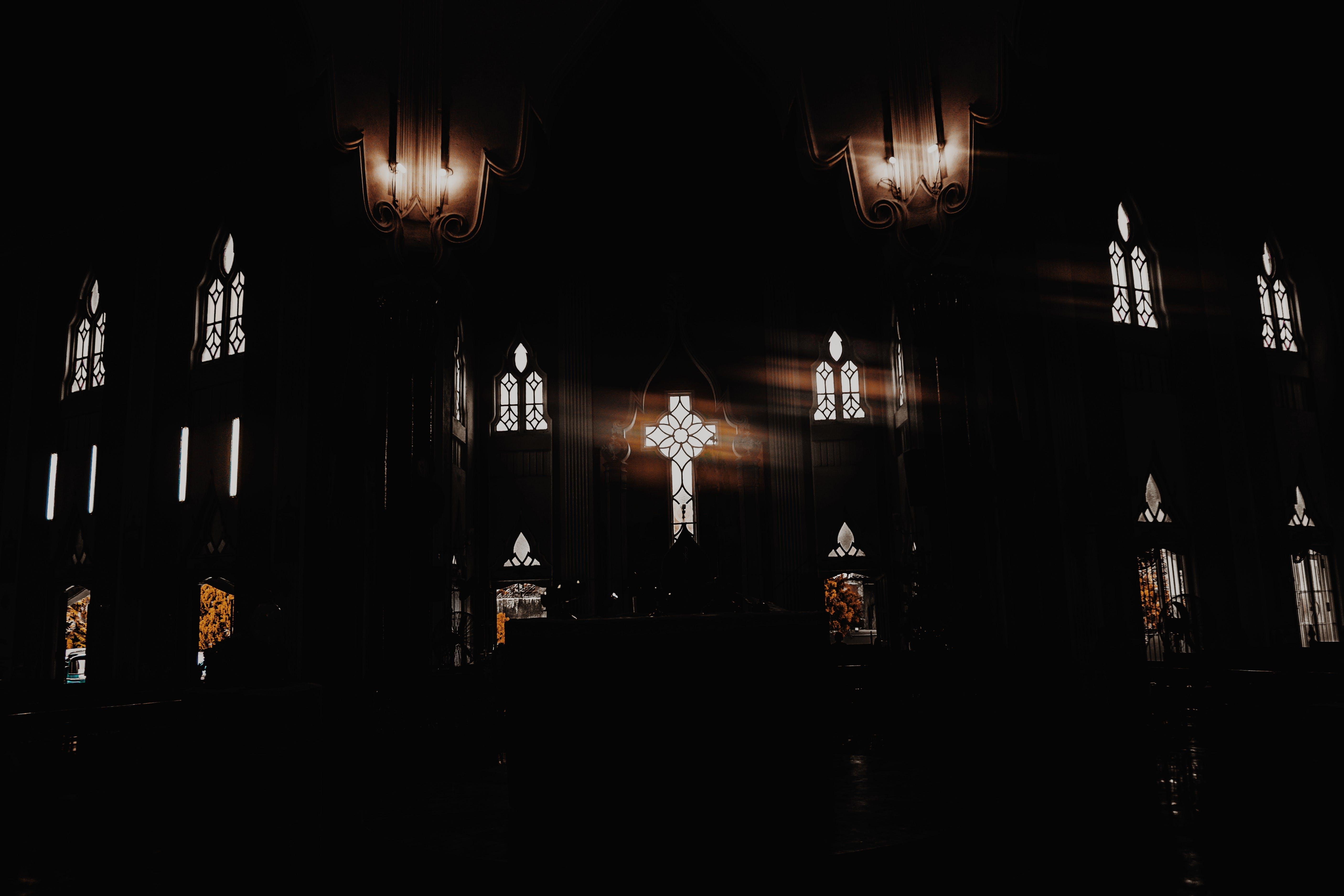 Kostnadsfri bild av Gud, ljus, rum, svart