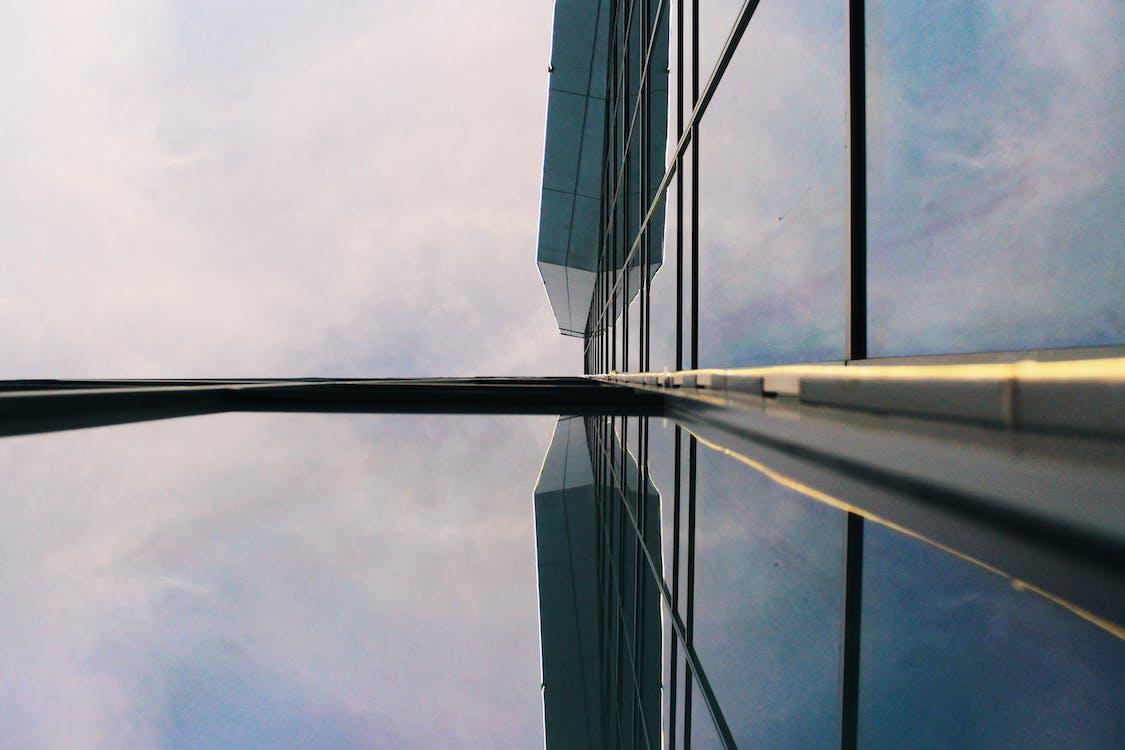 aço, alto, arquitetura