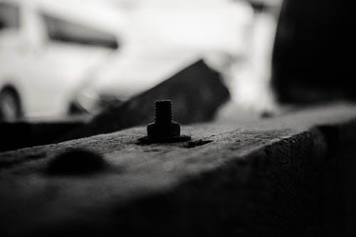 Free stock photo of bolt, nut, wood work