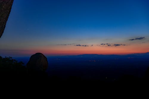 與石頭的日落 的 免費圖庫相片