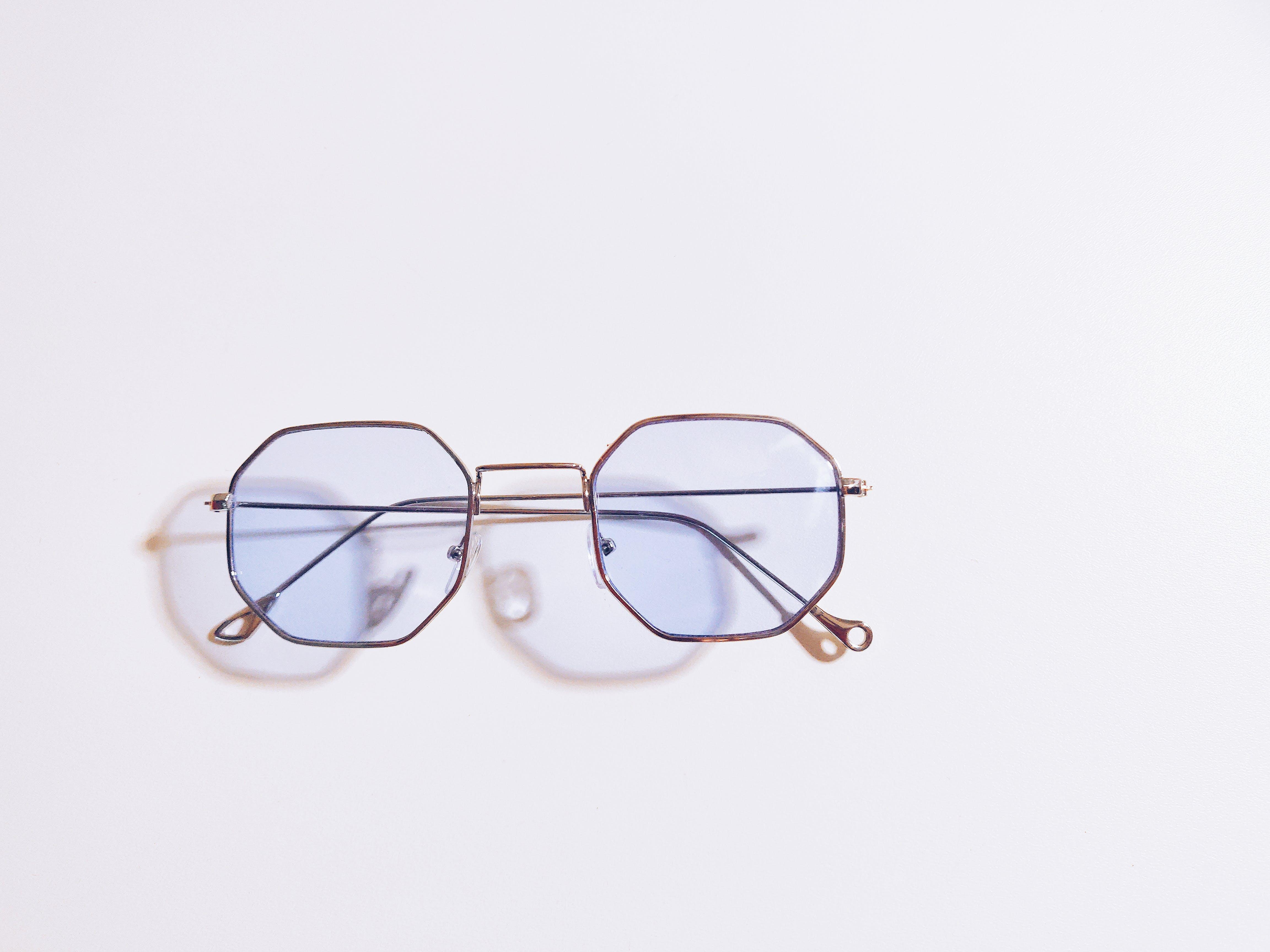 คลังภาพถ่ายฟรี ของ เงา, แว่นตา