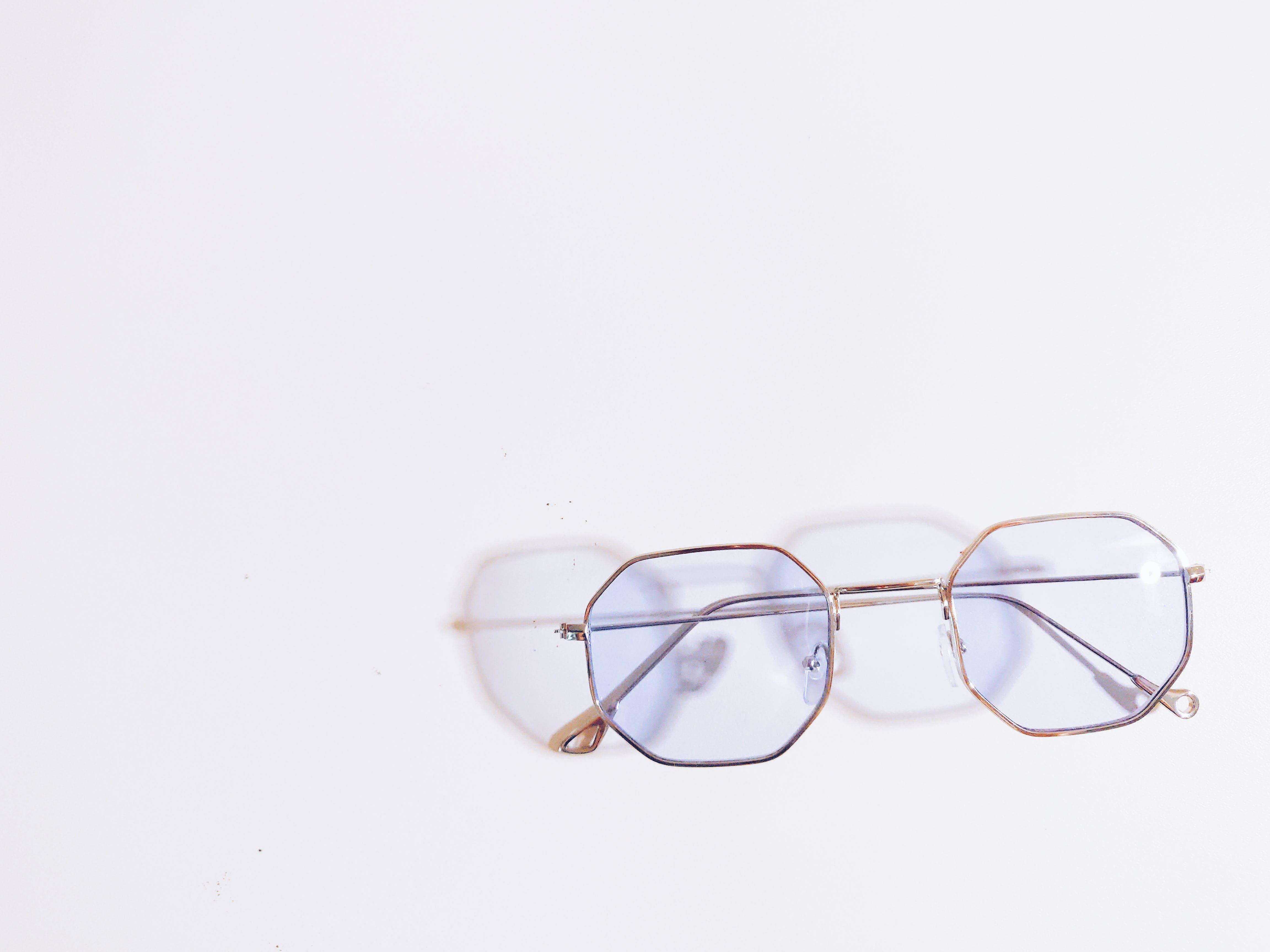 Eyeglasses With White Background