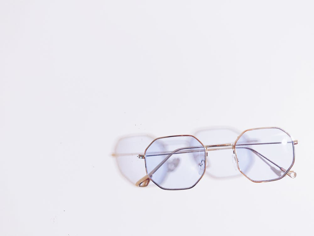 Eyeglasses With White Background