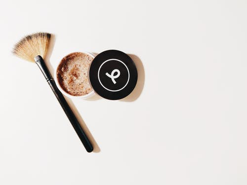 Brown And Black Make-up Brush