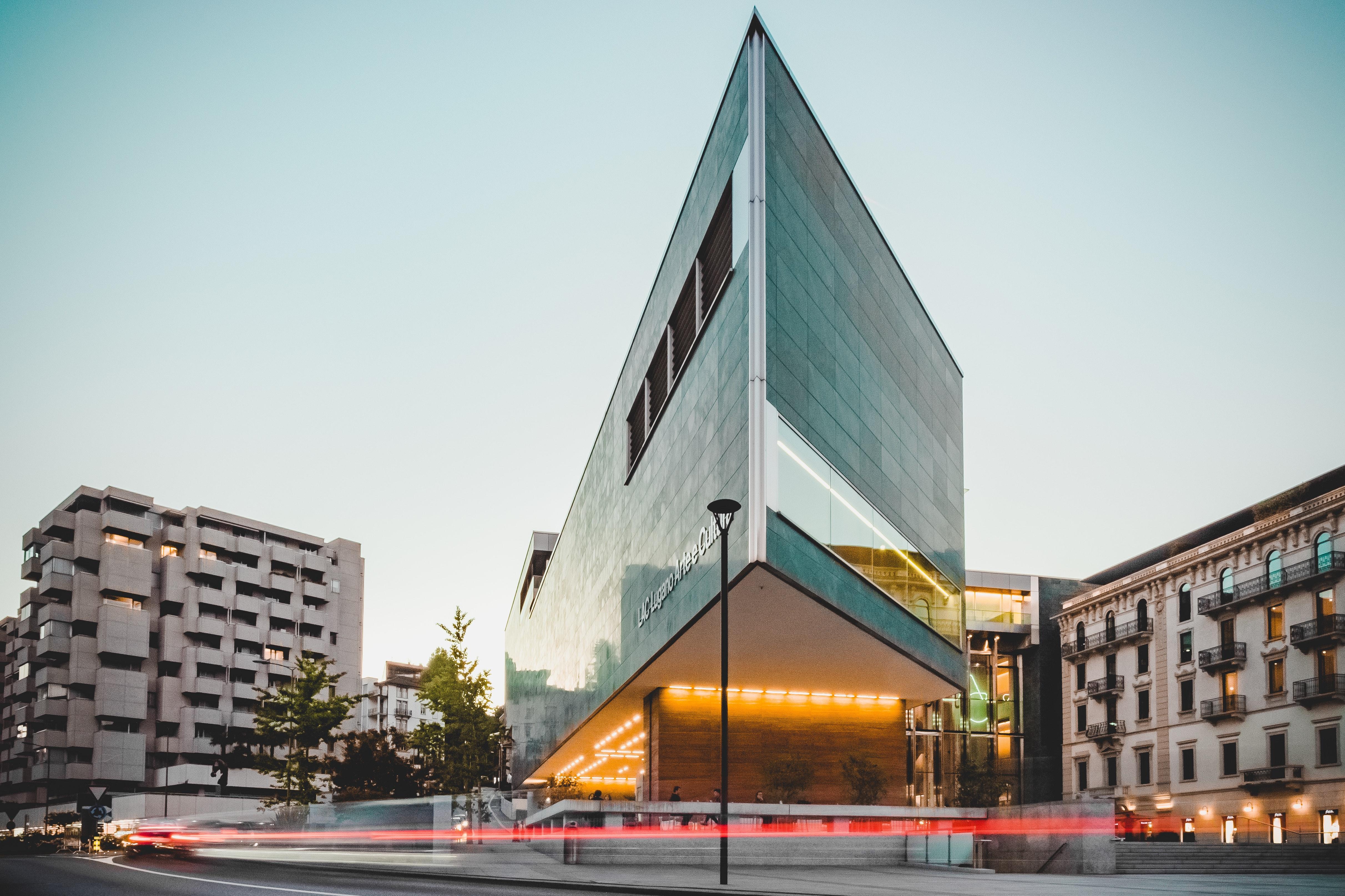 View of Triangular Building · Free Stock Photo