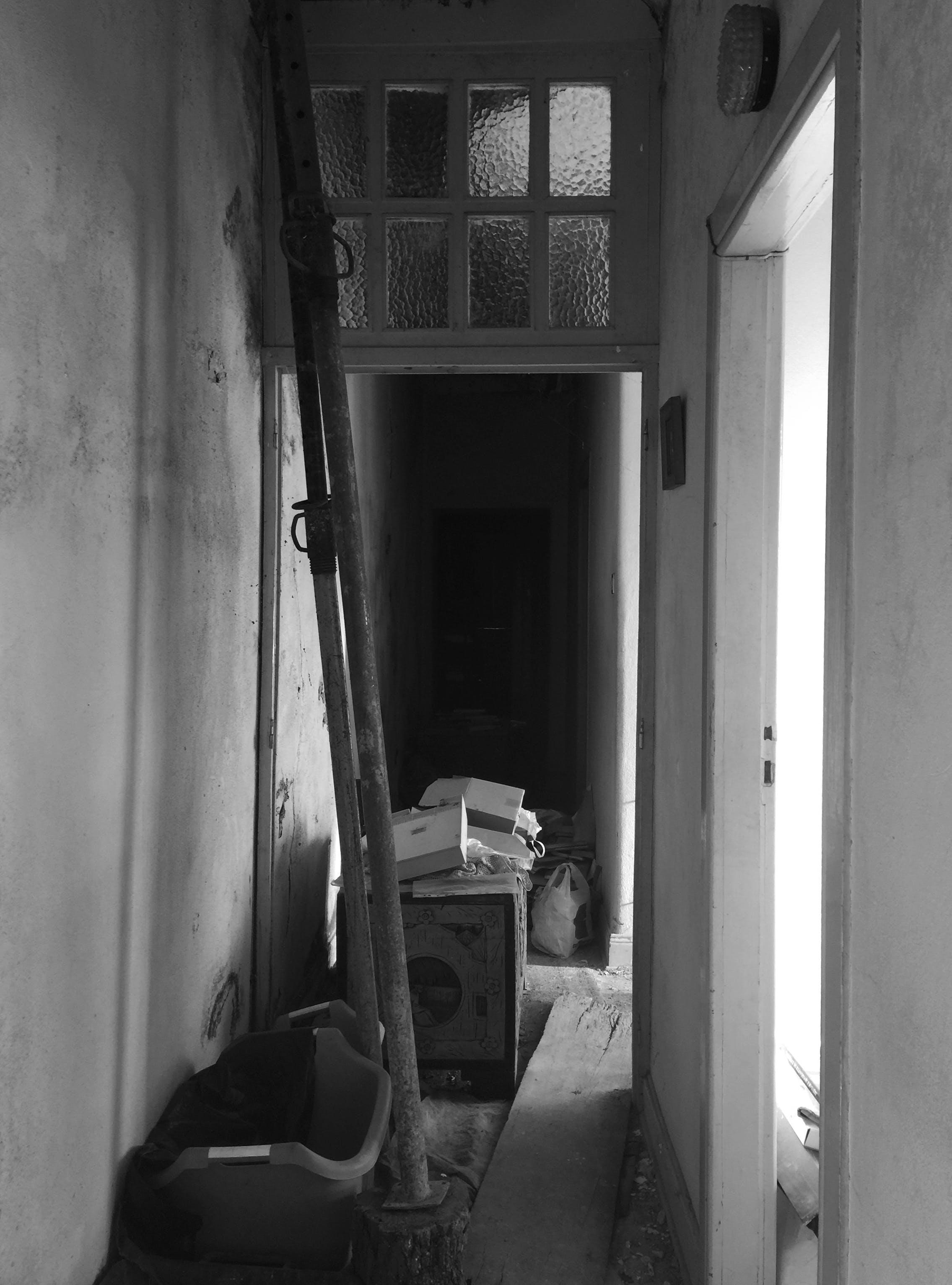 Free stock photo of abandoned, abandoned building, black, doll house