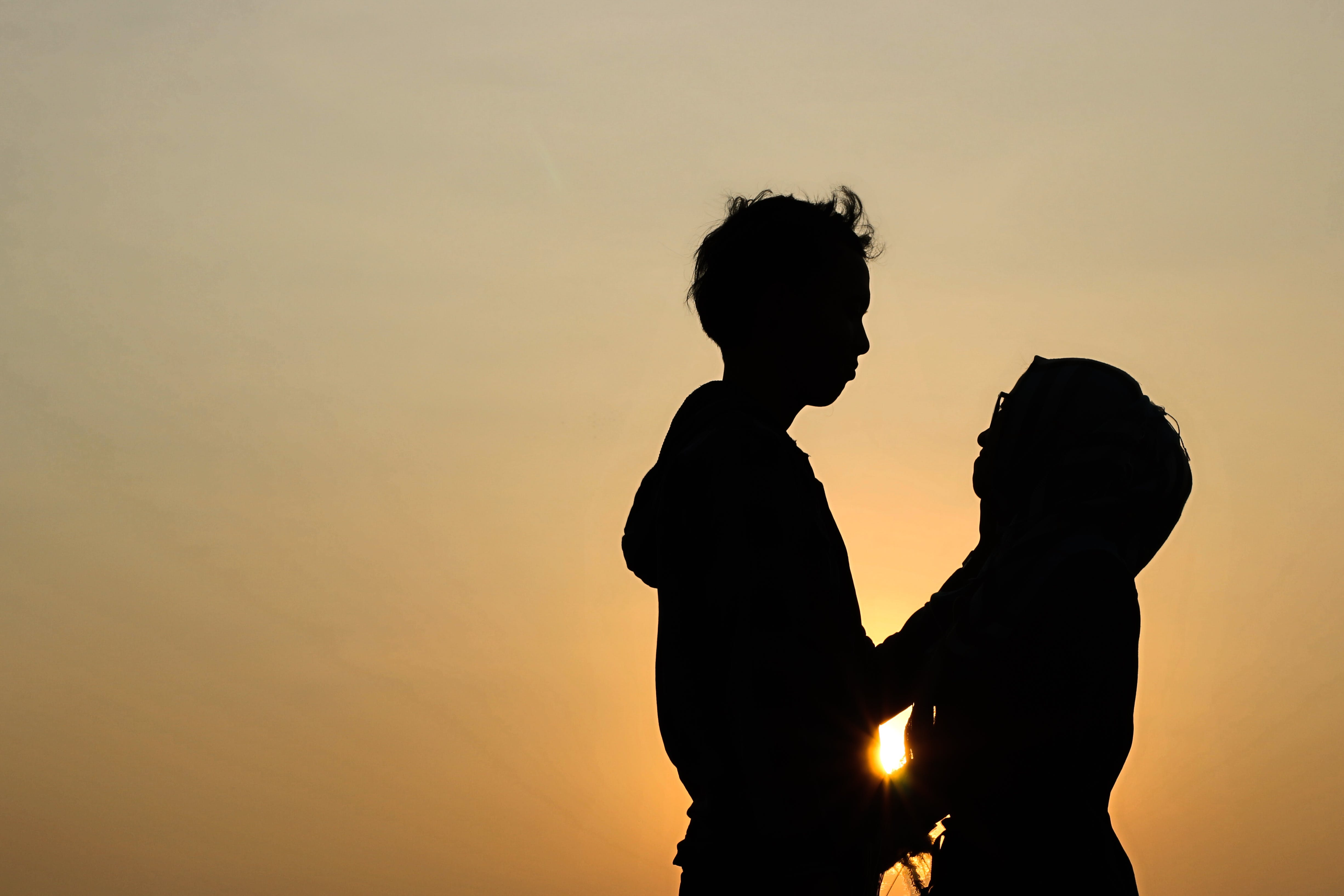 Free stock photo of love is love, sunset
