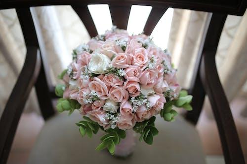 Foto stok gratis bunga pernikahan, mawar merah jambu, pernikahan