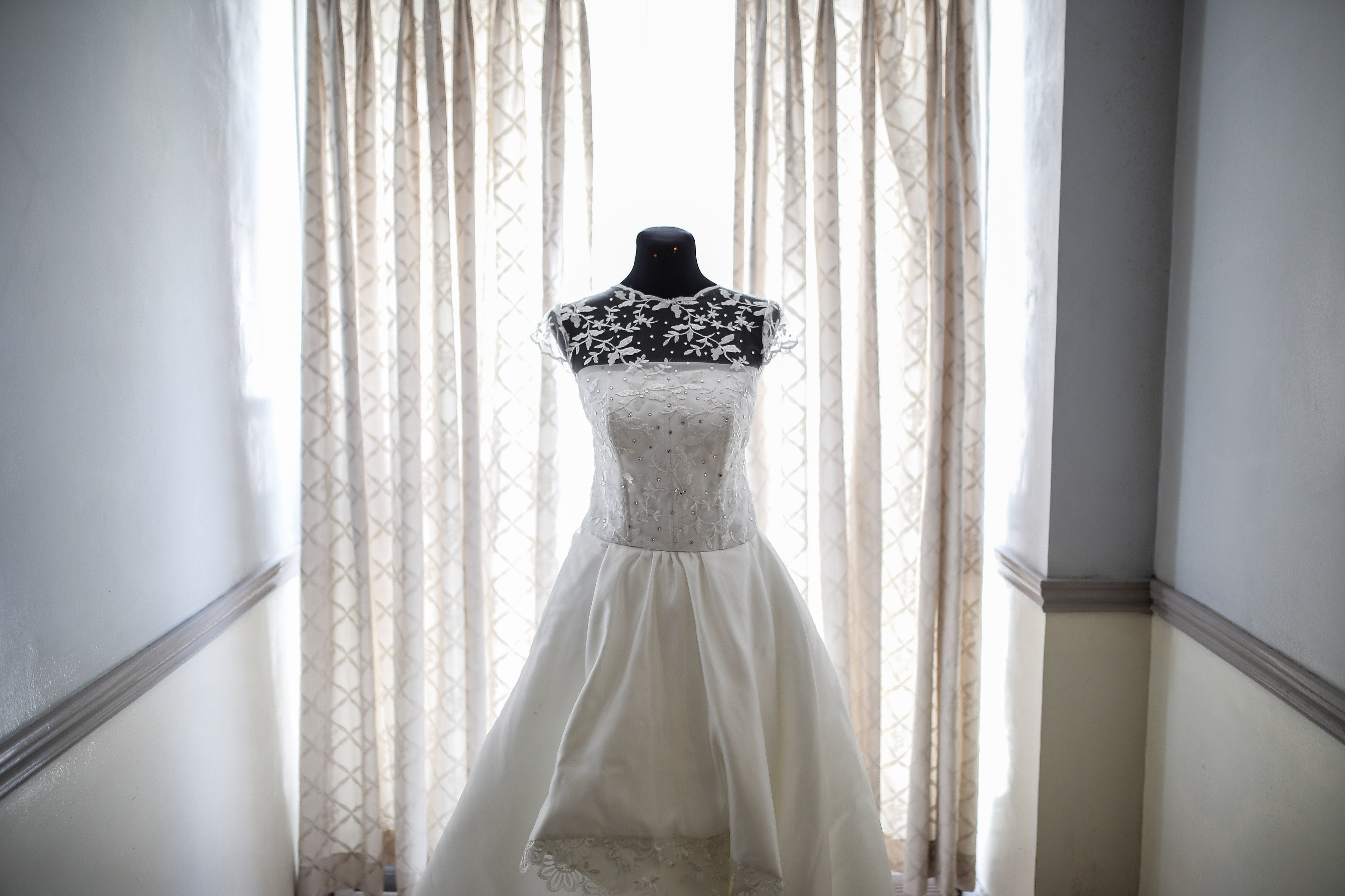 Photo of a Bridal Gown