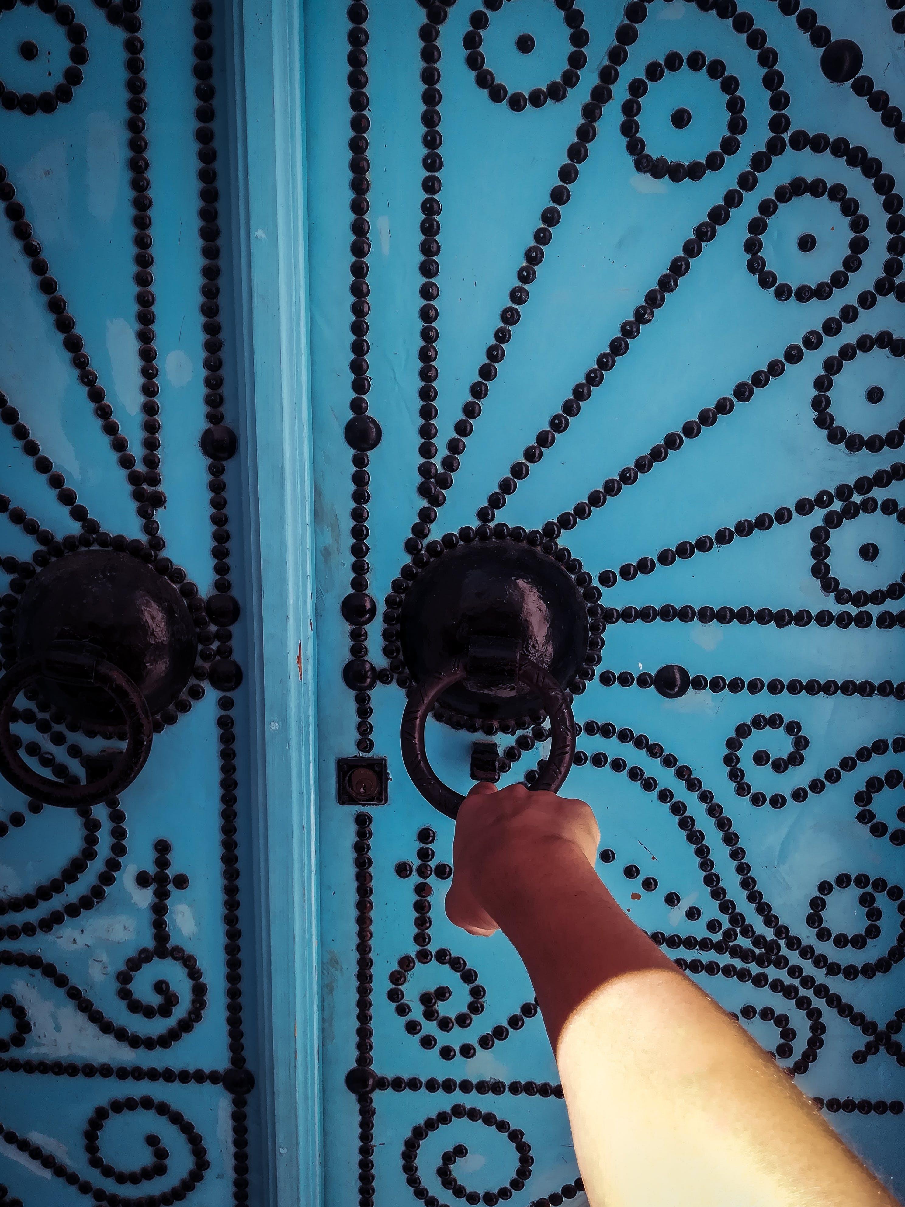 Kostenloses Stock Foto zu traditionell, tunesien, tunis, tür