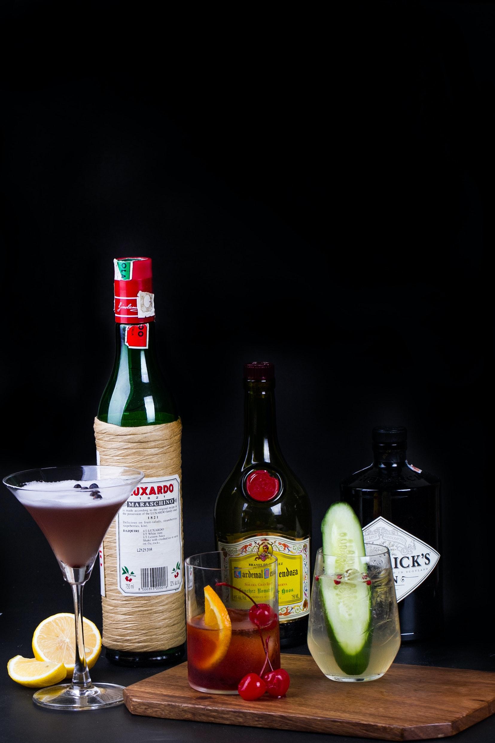 Kostenloses Foto zum Thema: alkohol, getränke