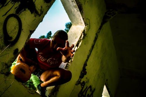 Free stock photo of cavemantraining, crossfit, crossfit training, crouching