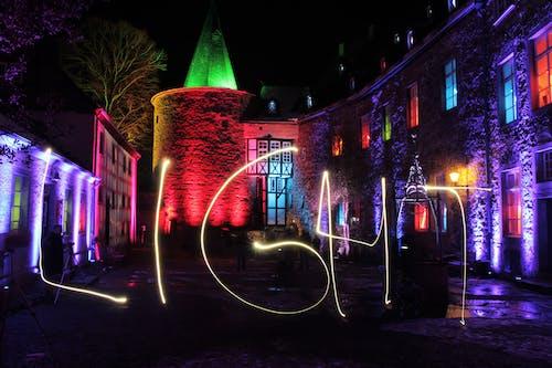 Fotos de stock gratuitas de arquitectónico, castillo, colores, colorido