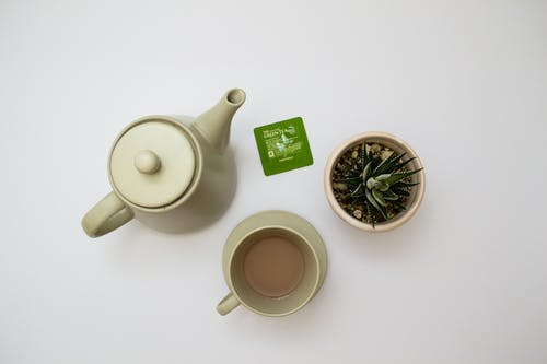 Photo of White Tea Set
