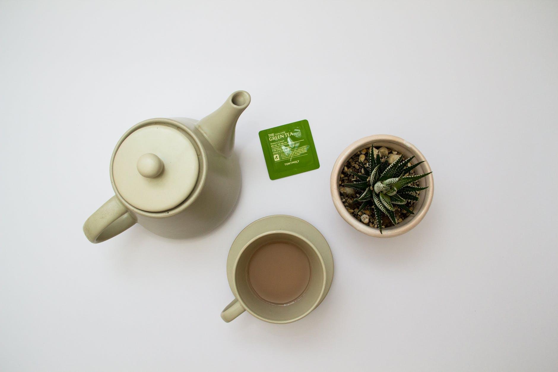 minuman alami pelangsing tubuh teh hijau