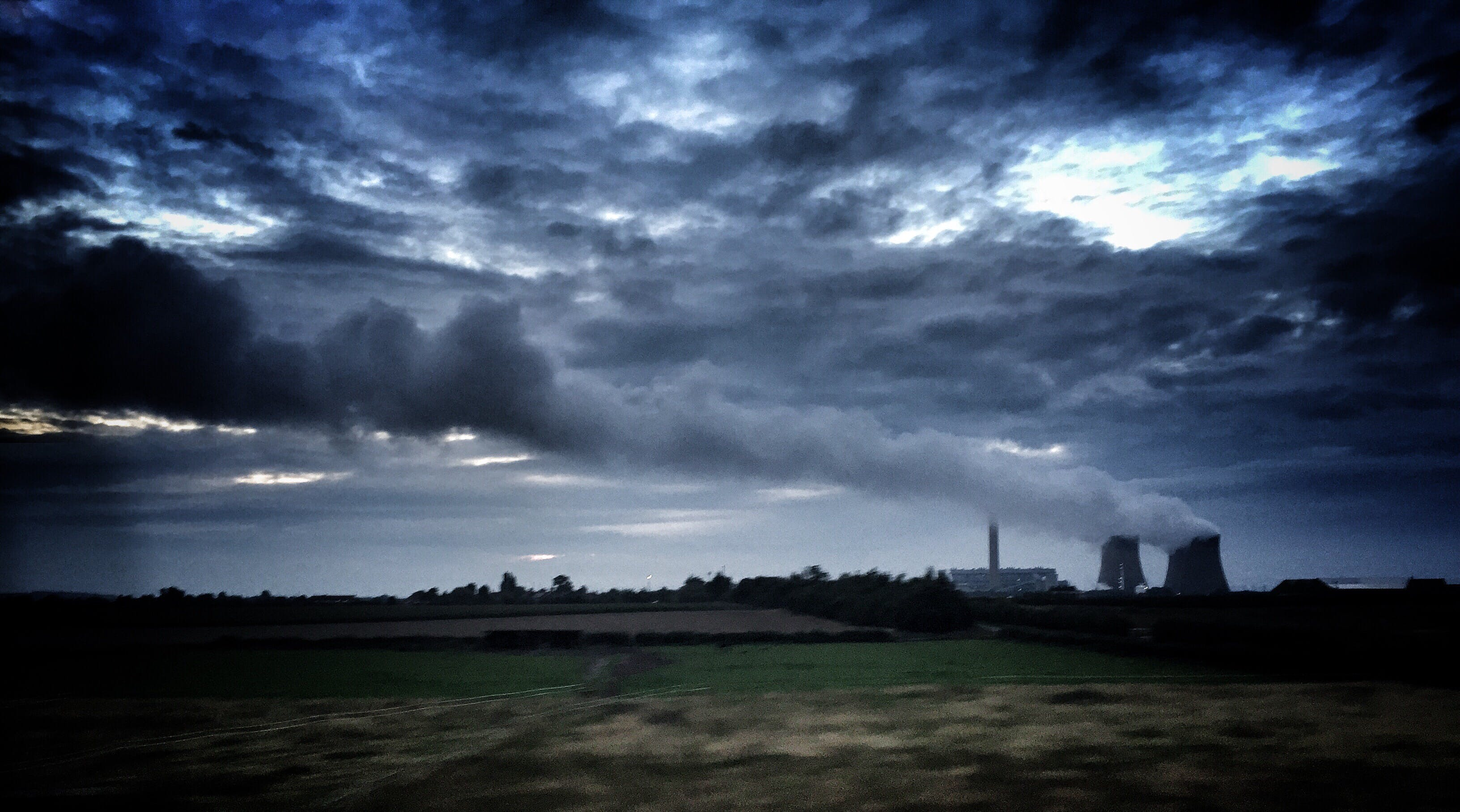 Free stock photo of air pollution, power station