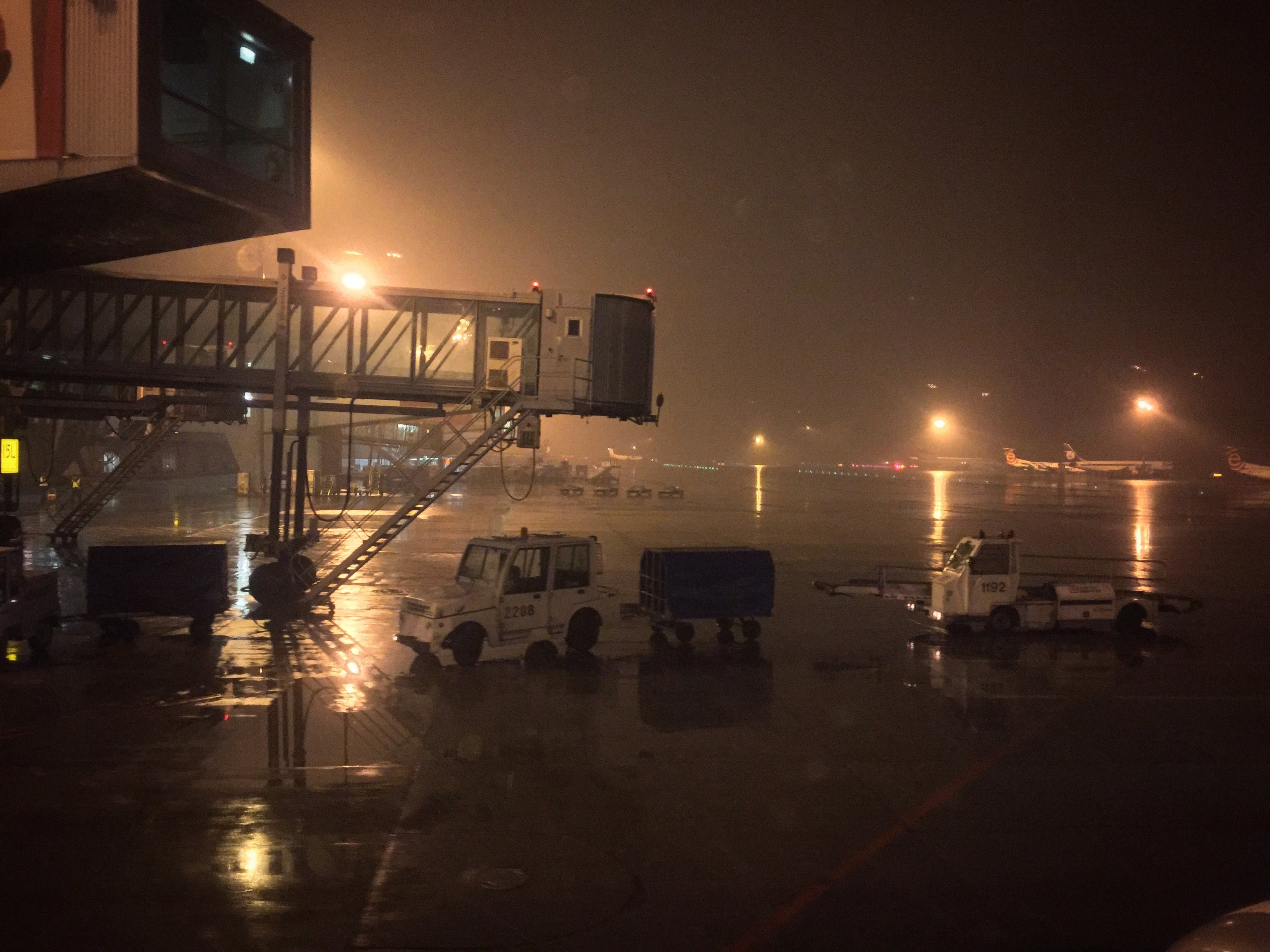 Free stock photo of airport, fog