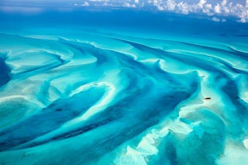 deniz, deniz manzarası, hava çekimi, kuş bakışı içeren Ücretsiz stok fotoğraf