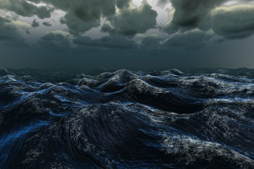 dalgalar, deniz, doğa, fırtına içeren Ücretsiz stok fotoğraf