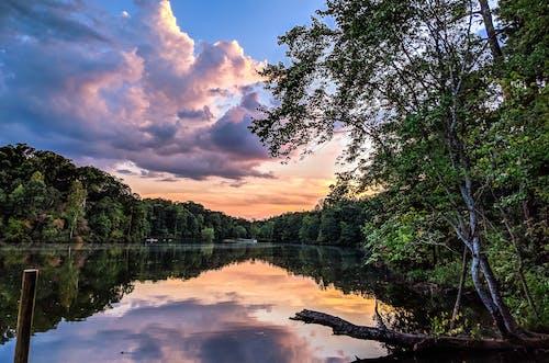 Kostnadsfri bild av fredlig, gryning, himmel, landskap