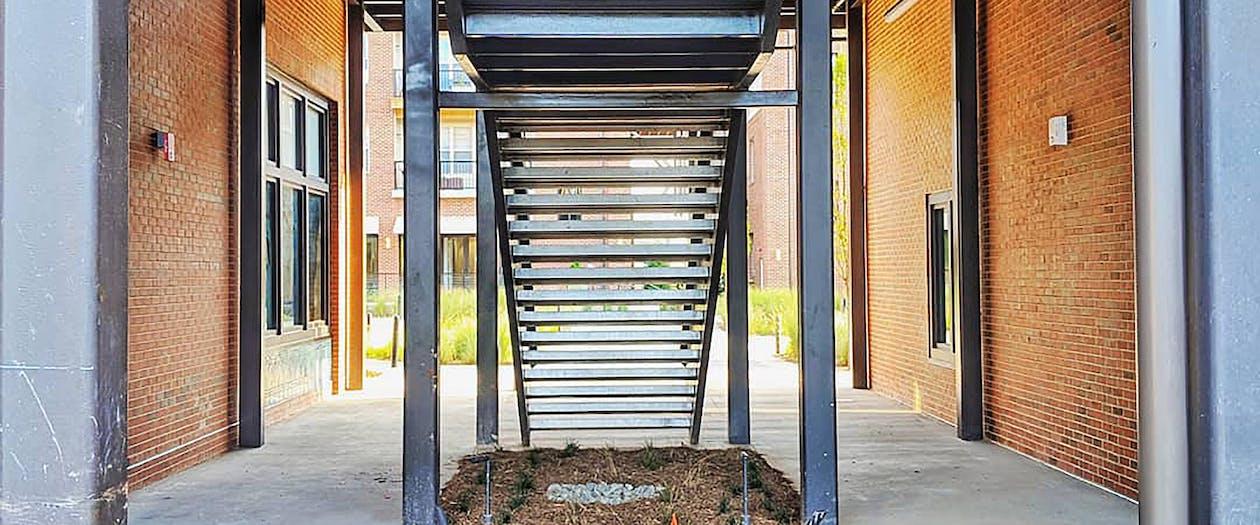 계단, 현대 건축