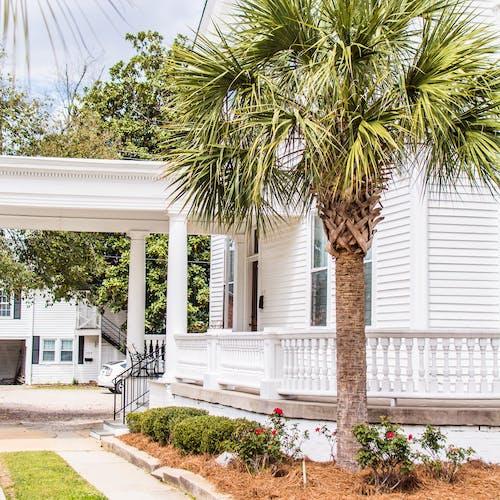 Free stock photo of mansion, palmetto, south carolina, white