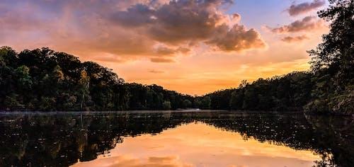 Gratis arkivbilde med solnedgang