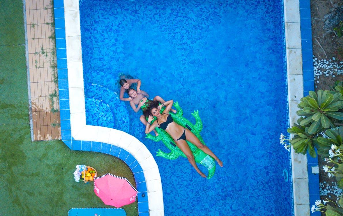 бассейн, веселье, женщины