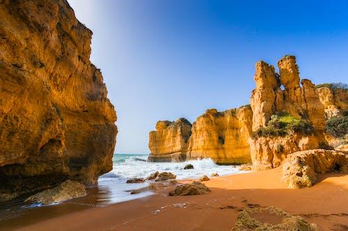 경치, 경치가 좋은, 모래, 물의 무료 스톡 사진