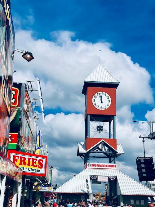 Gratis stockfoto met blauw, bleek, klokkentoren