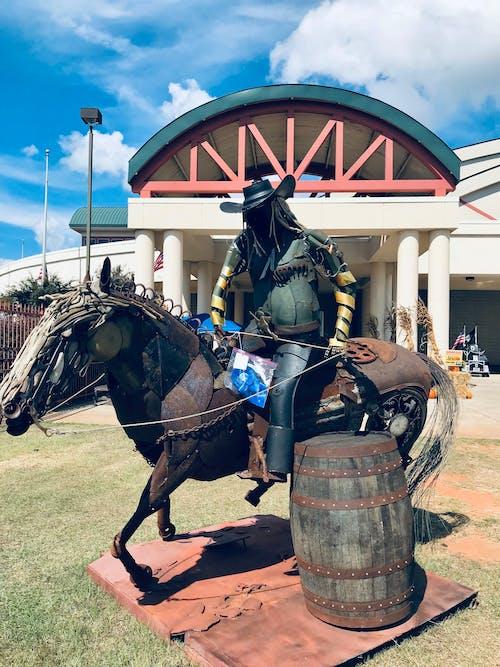 Gratis stockfoto met amerikaanse cowboy, beeld, bleek, westelijk plezier