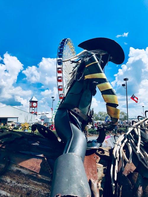 Gratis stockfoto met amerikaanse cowboy, beeld, bleek, klokkentoren