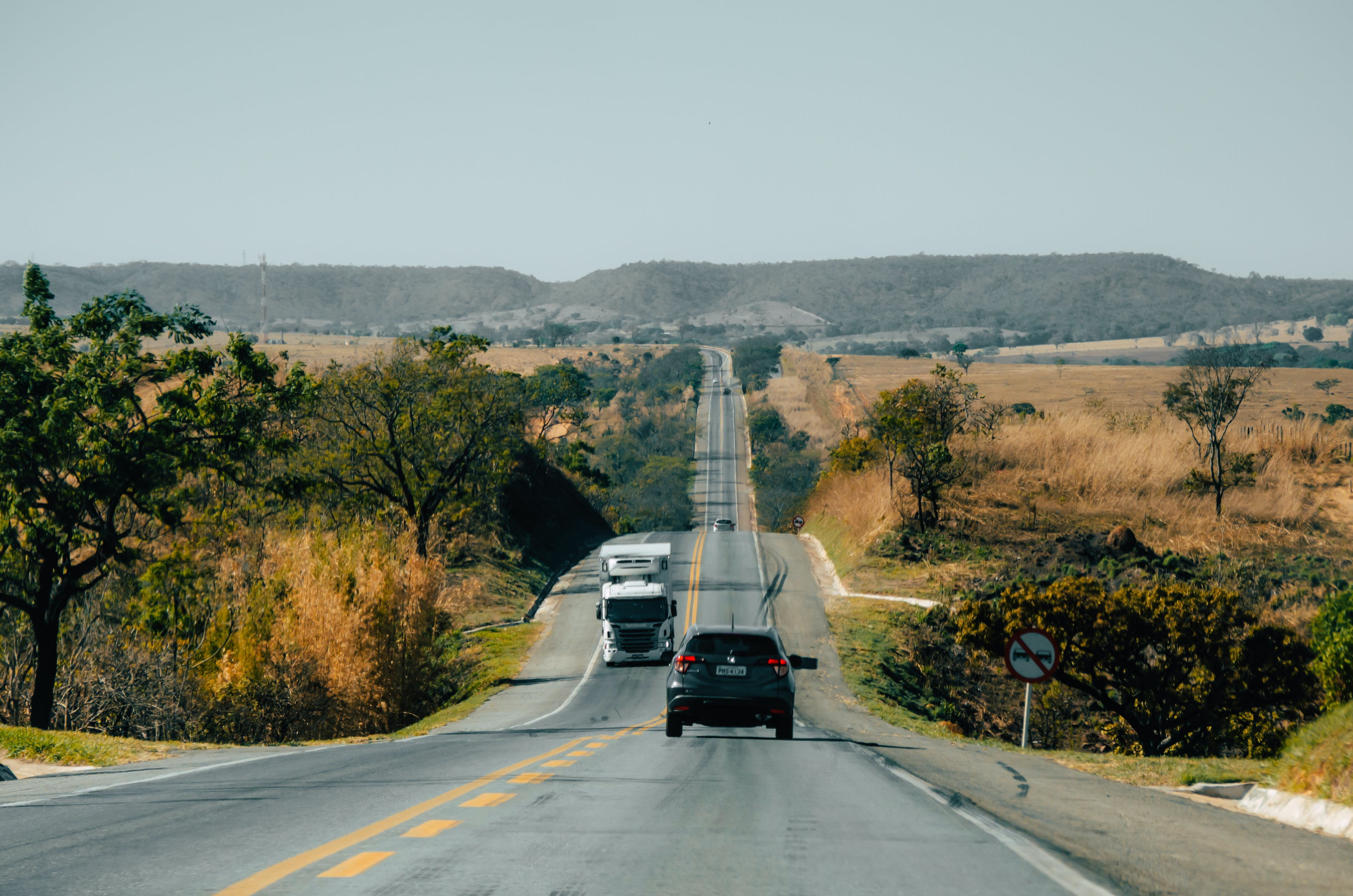 Free stock photo of car, road, travel, truck