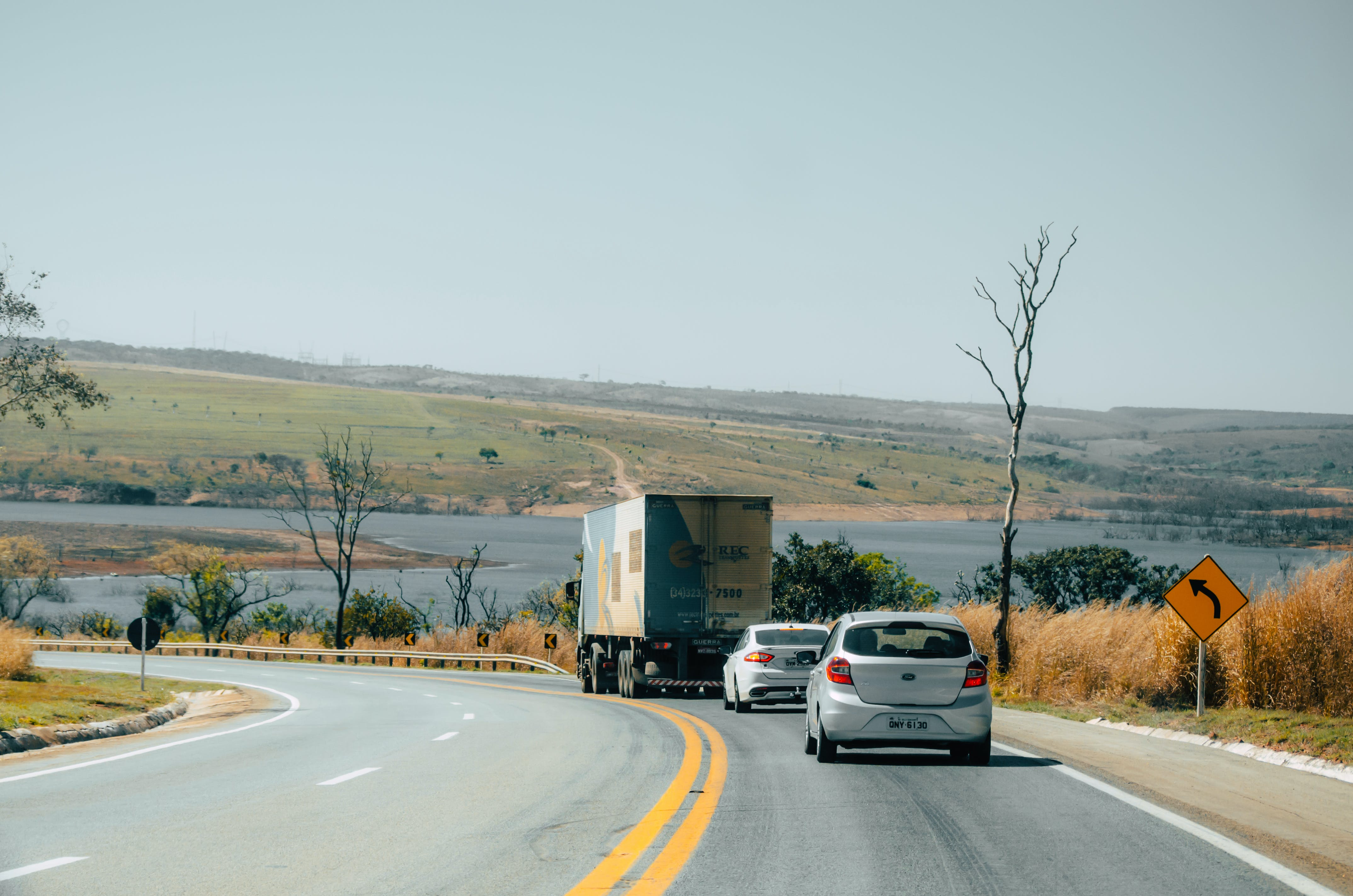 Free stock photo of brazil, car, river, road