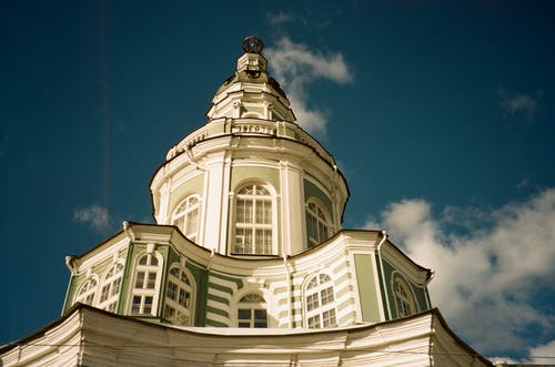 Fotos de stock gratuitas de arquitectura, cielo, cielo azul, edificio