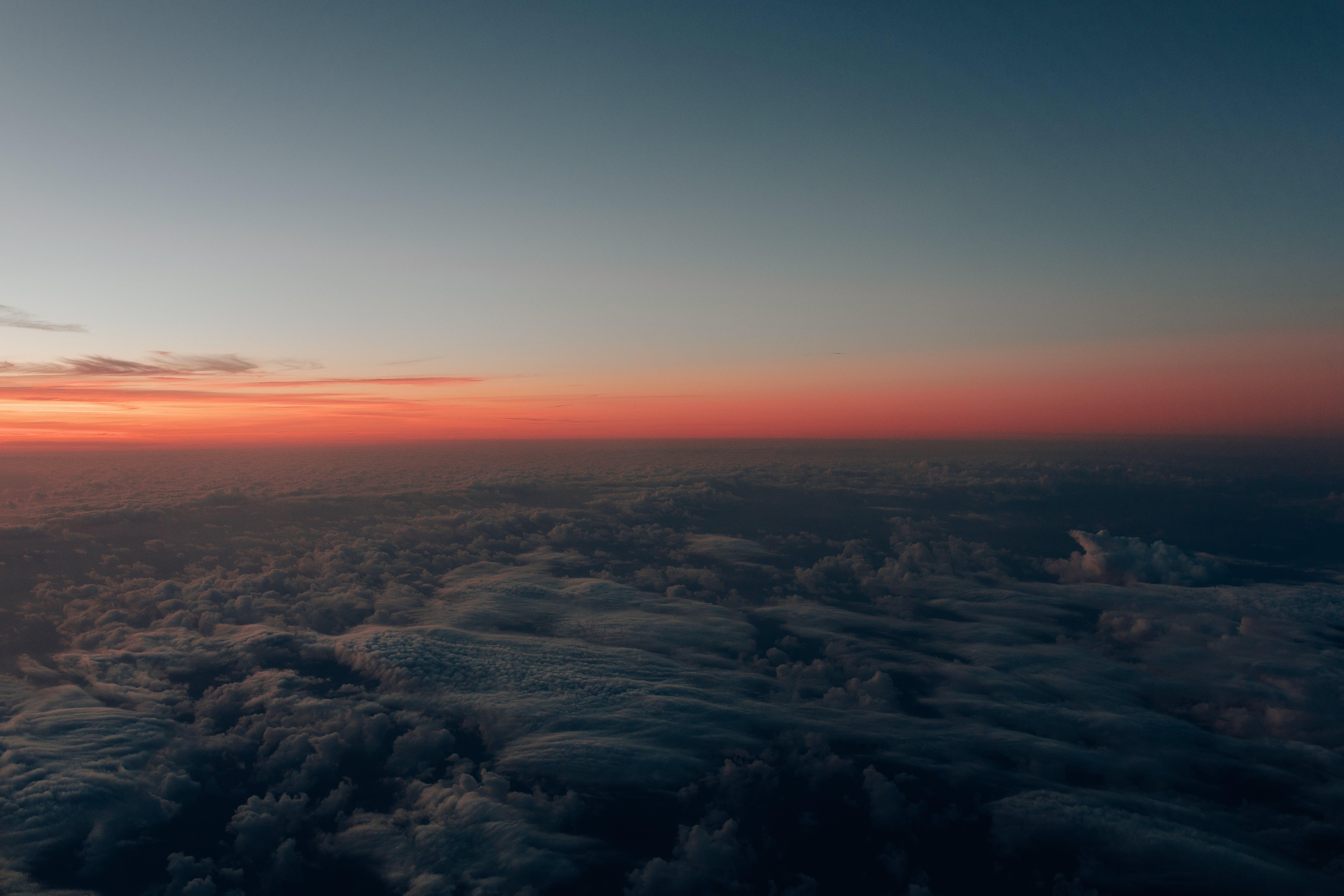 ゴールデンアワー, 夕方, 日没, 空の無料の写真素材