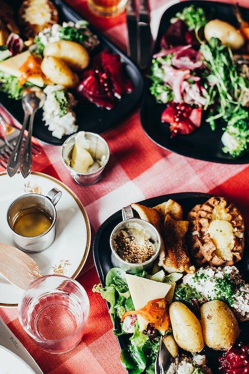 Photos gratuites de aliments, assiettes, bifurcation, cuillère