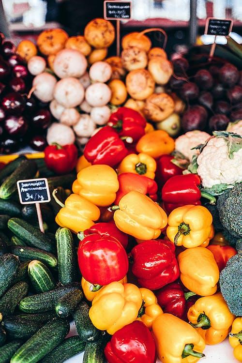 ardei grași, legume, mâncare