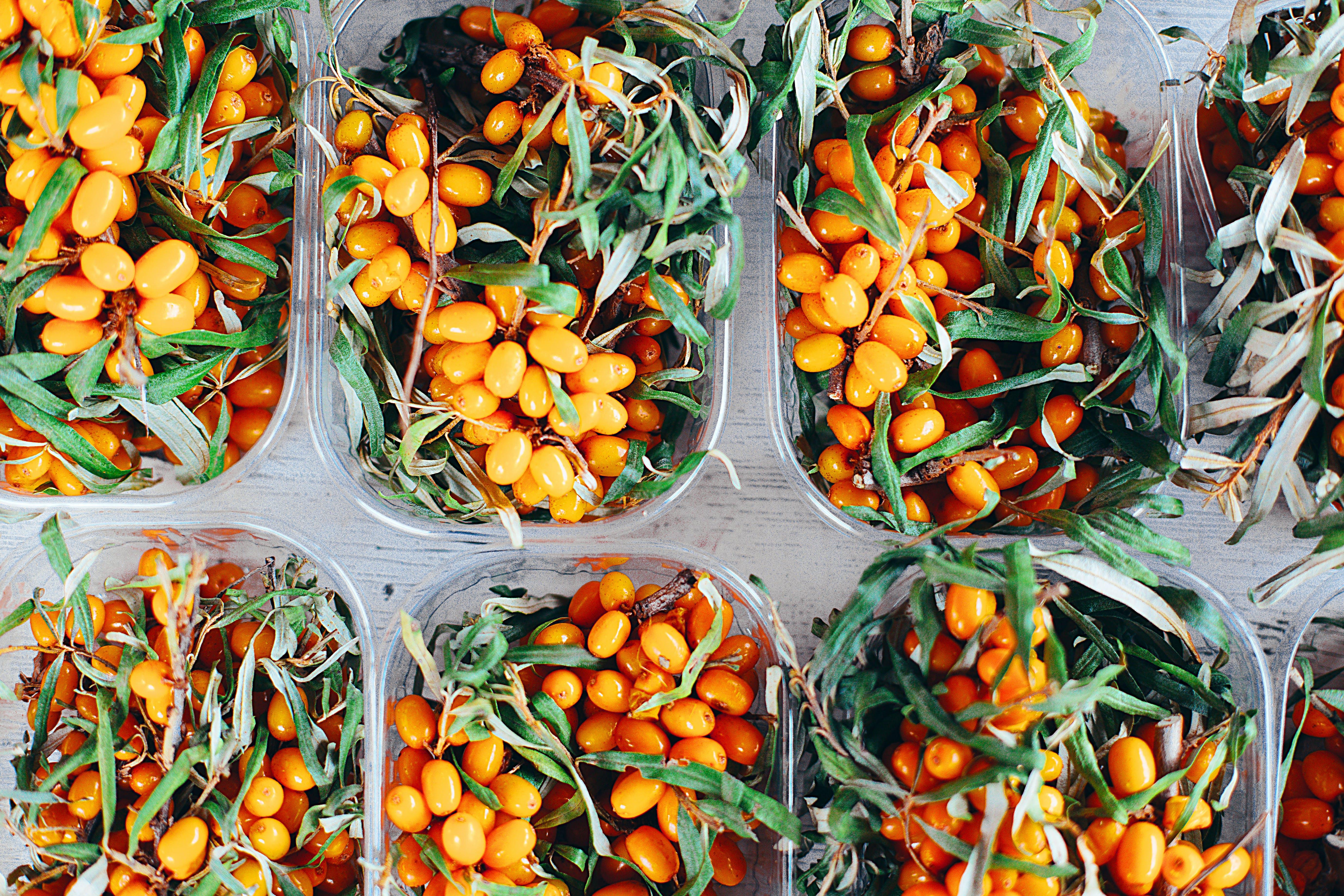 Oval Orange Fruit Lot