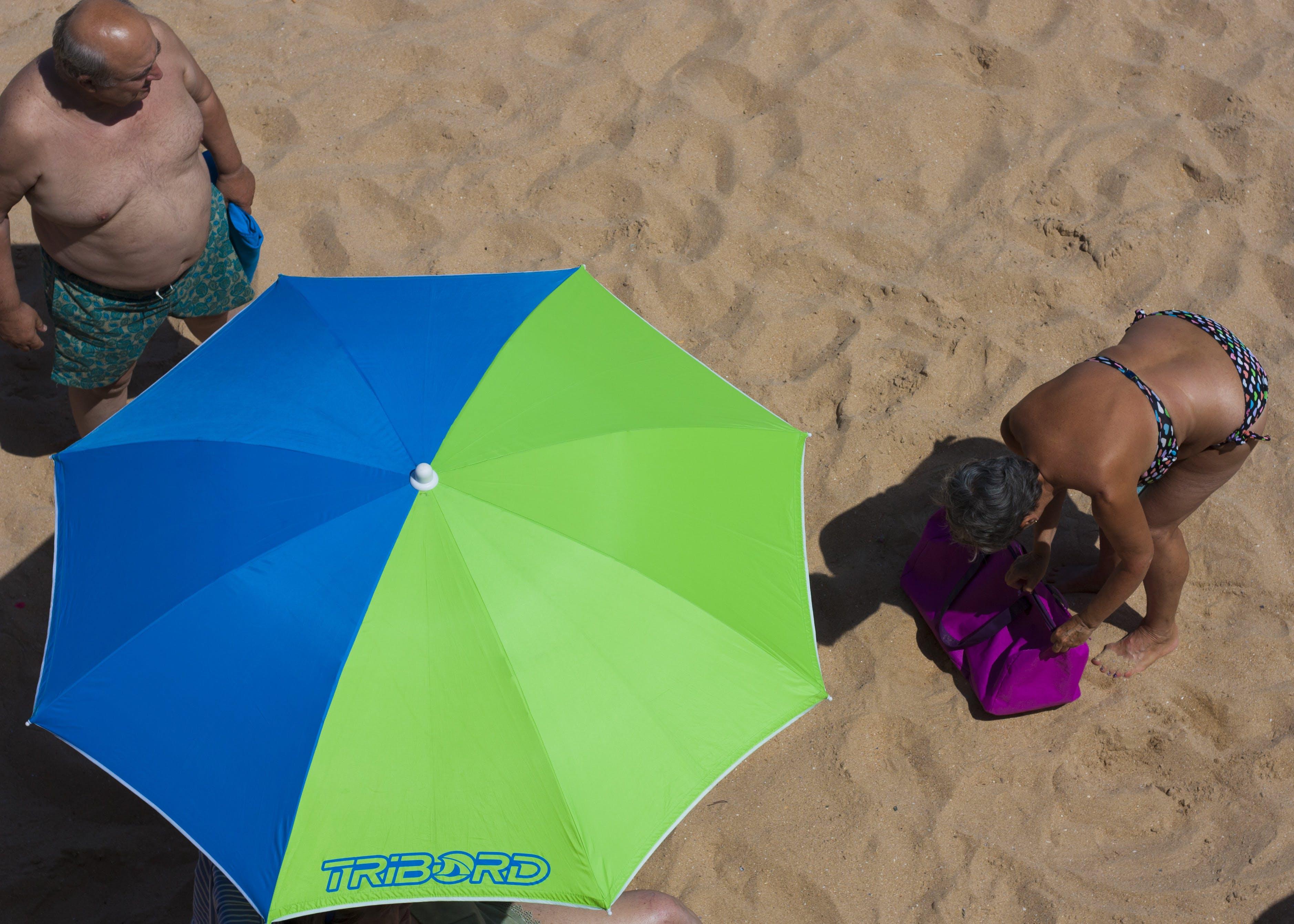 Free stock photo of beach, holidays, seniors, spain