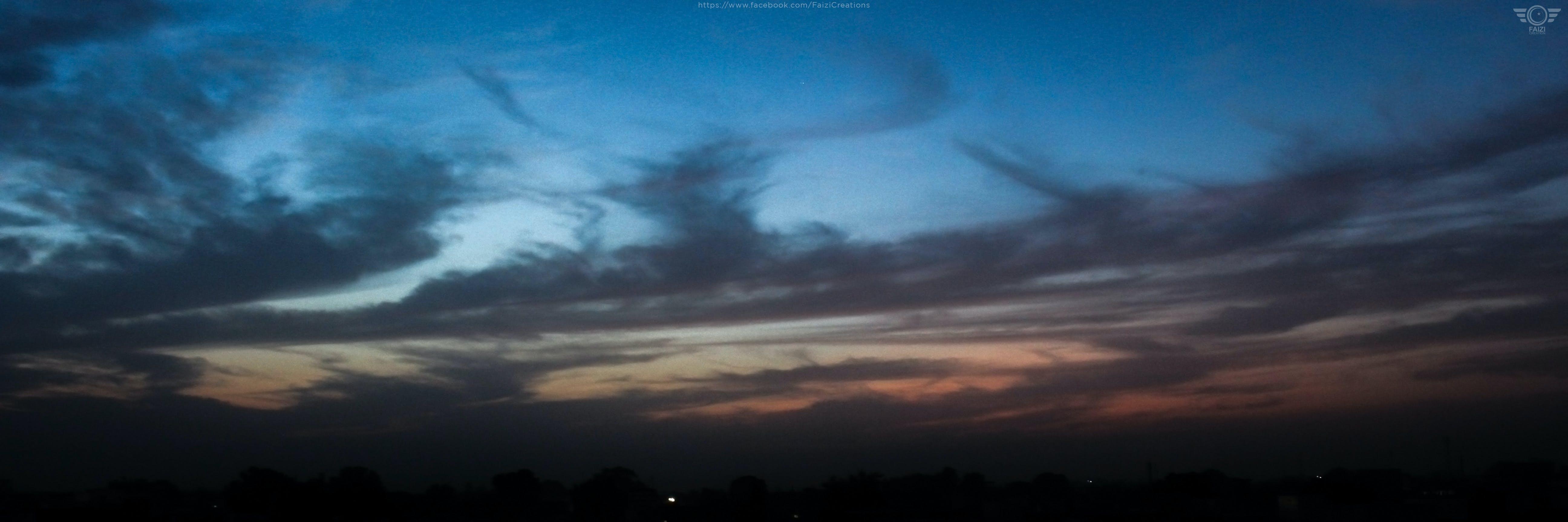 Free stock photo of blue Clouds, clouds, FaiziCreation, landscape