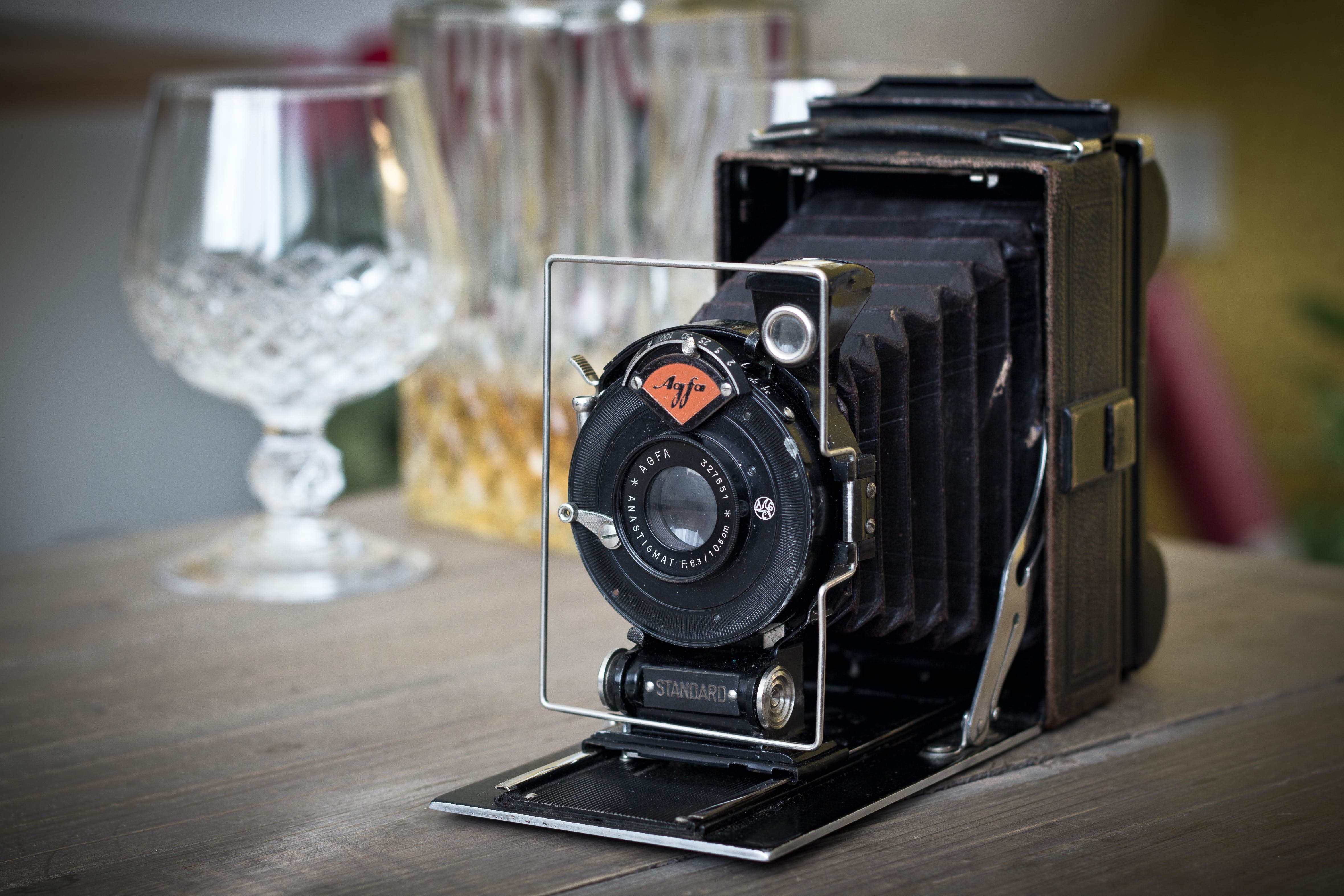 Free stock photo of agfa, camera, old camera, vintage