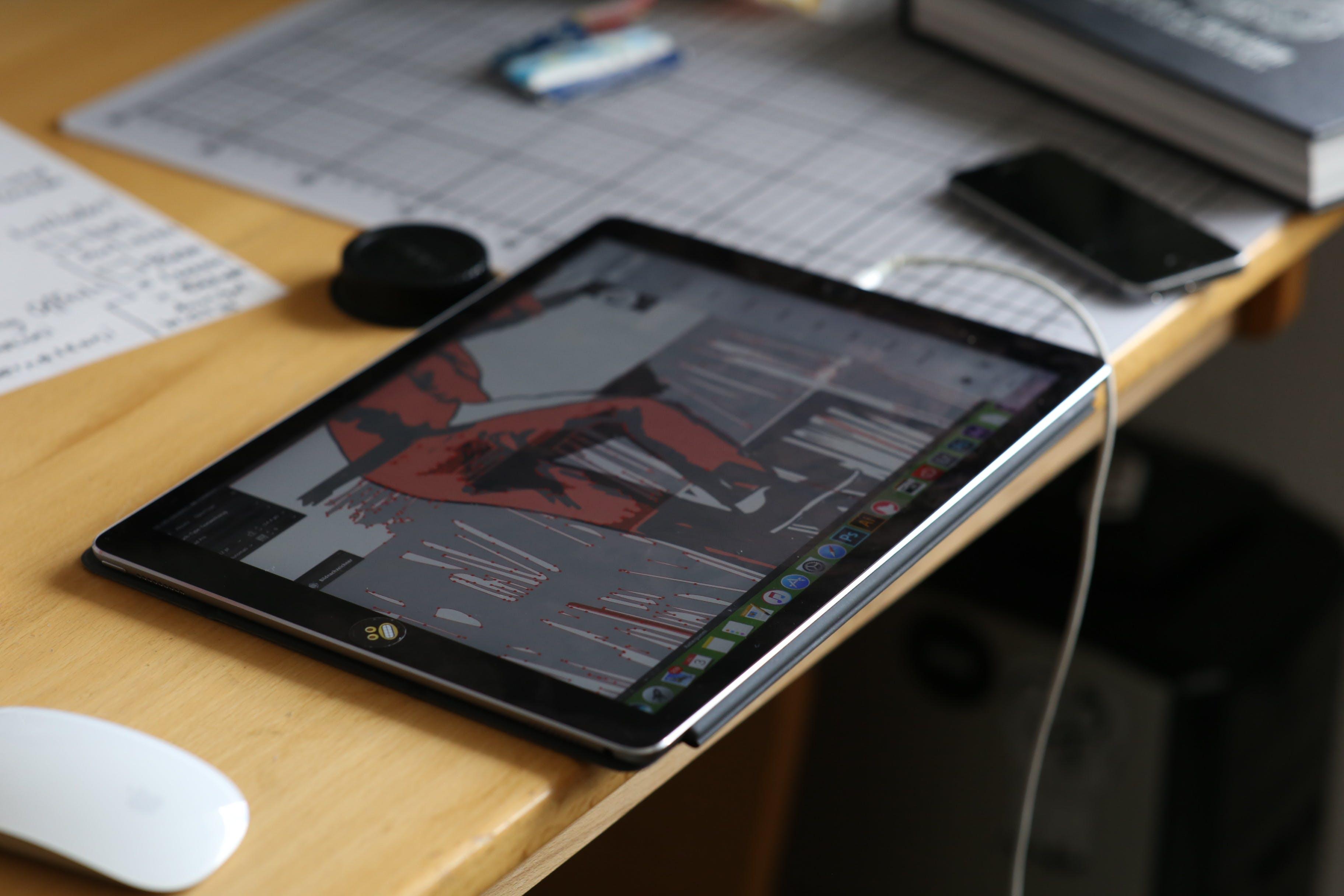 Free stock photo of laptop, macbook pro, working, macbook