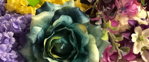 Free stock photo of artificial flowers, flowers, purple, rose