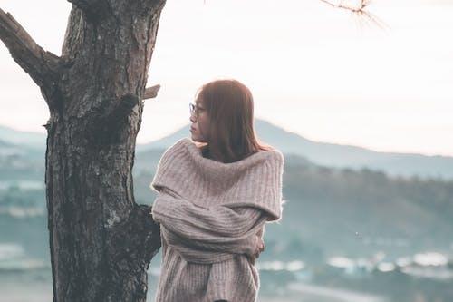 亞洲女人, 休閒, 冷, 女人 的 免费素材照片