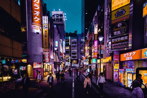 Gratis stockfoto met binnenstad, downtown, in de stad, Japan