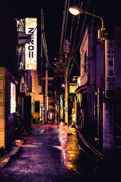 Immagine gratuita di città, edifici, fotografia di strada, giappone