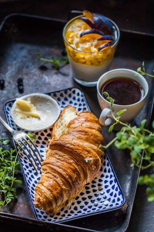 Fotos de stock gratuitas de comida, delicioso, hojaldre, pan