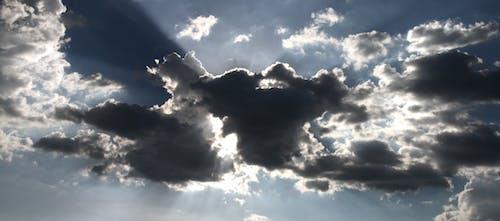Fotobanka sbezplatnými fotkami na tému ľahký, mrak, oblačný, obloha