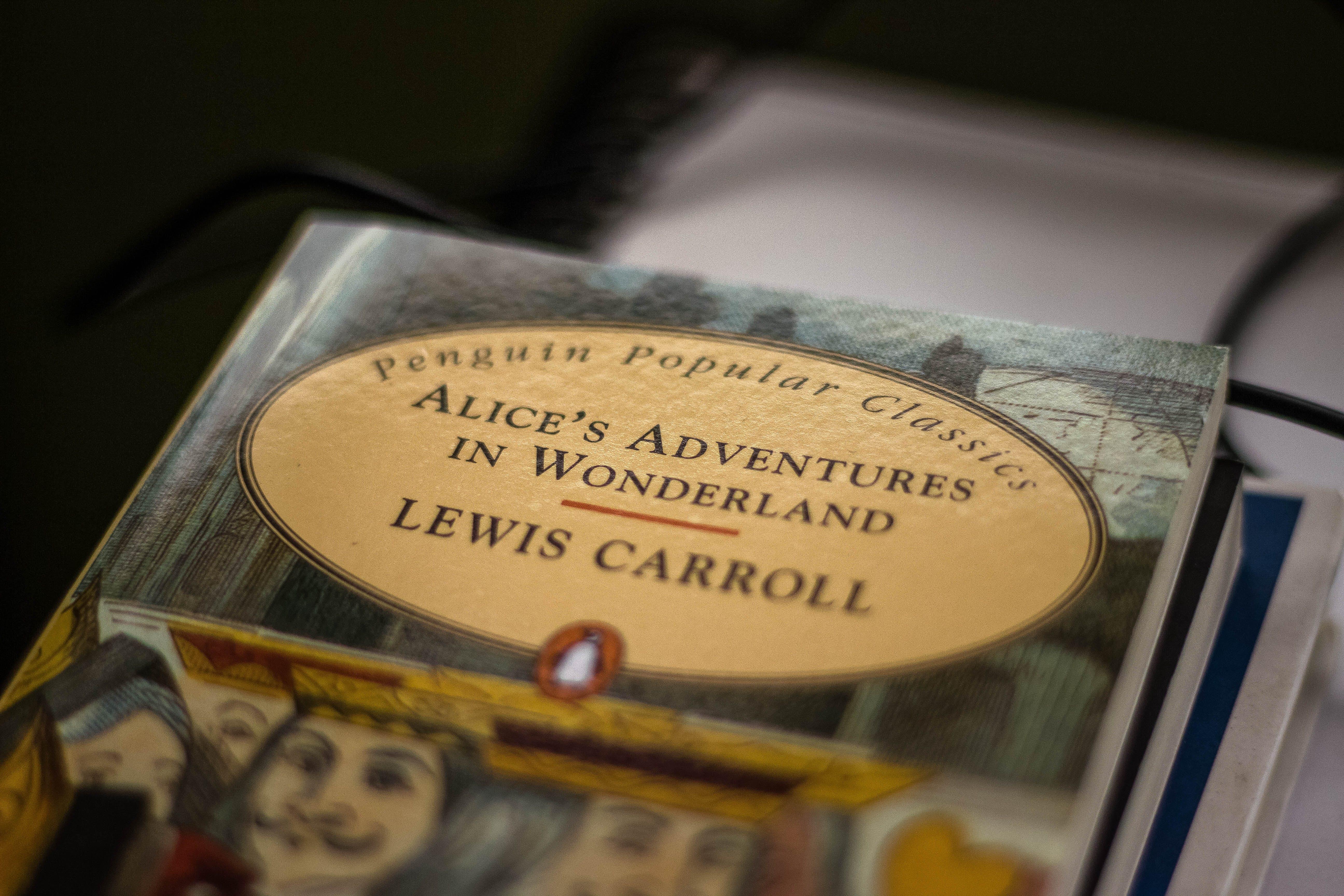 Free stock photo of alice, Alice's adventures in Wonderland, book, Lewis Carroll
